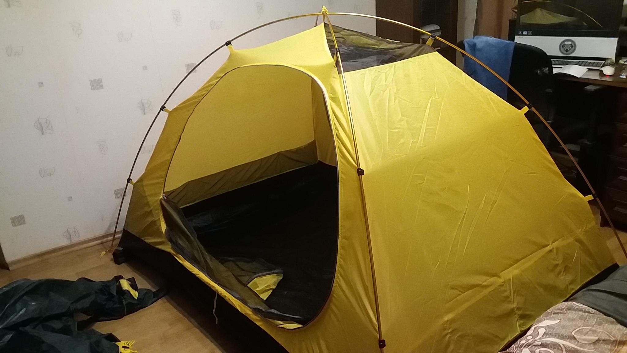 внутренняя палатка - вид 1