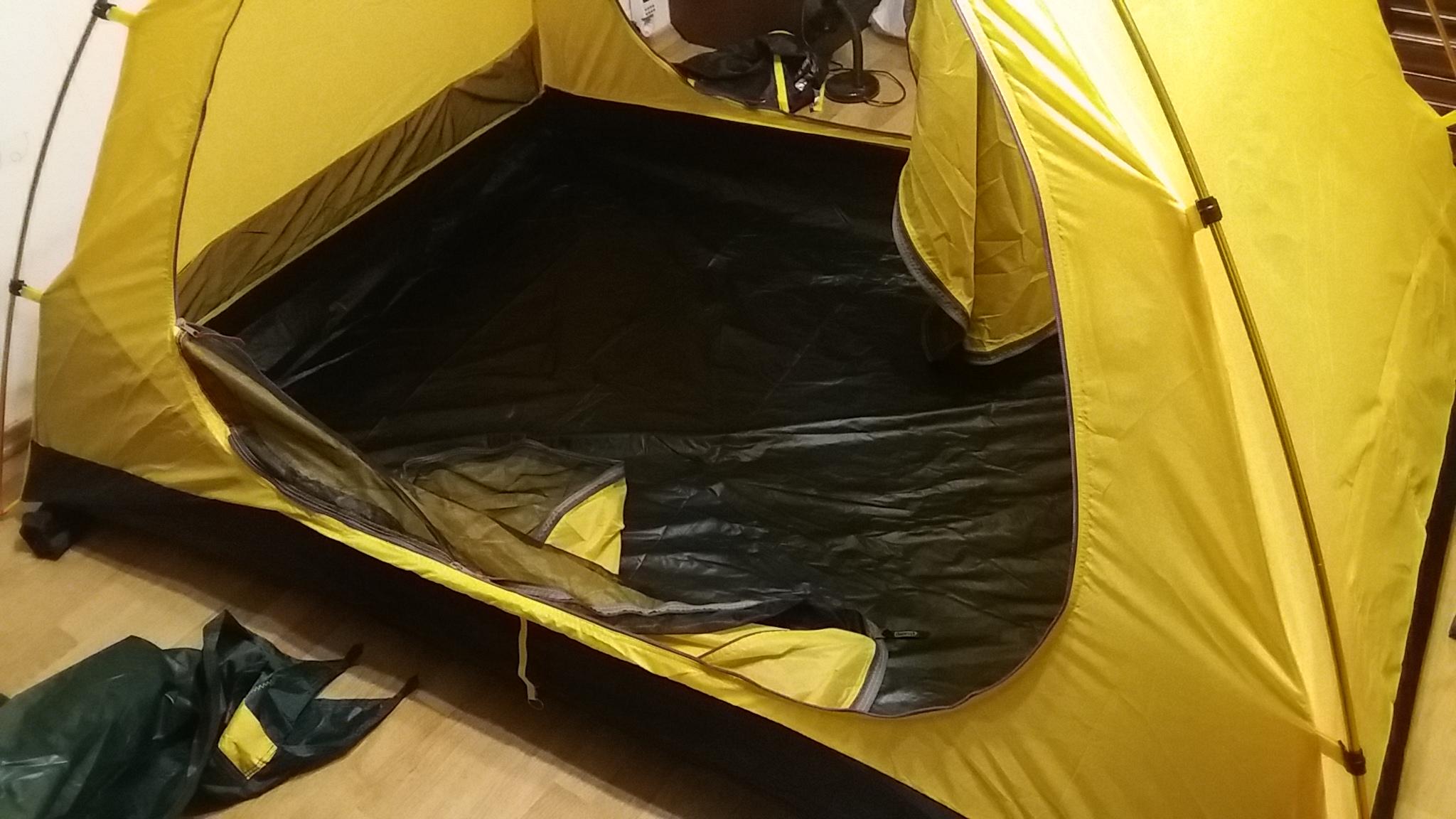 внутренняя палатка - вид 2